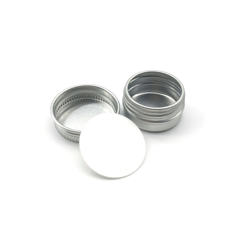 Image 4 - 5Pcs 5g/10g/15g/20g/30ml Empty Aluminum Jars Refillable Cosmetic Bottle Ointment Cream Sample Packaging Containers Screw Cap-in Refillable Bottles from Beauty & Health