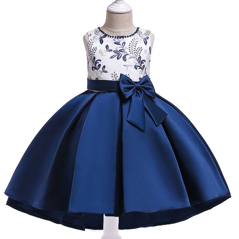 eb3ca3f0eebd ... Summer Girls Dresses 2018 Elegant Clothes Party Wedding Dress For Girls  KidsChildren Clothing Floral Princess Dress ...