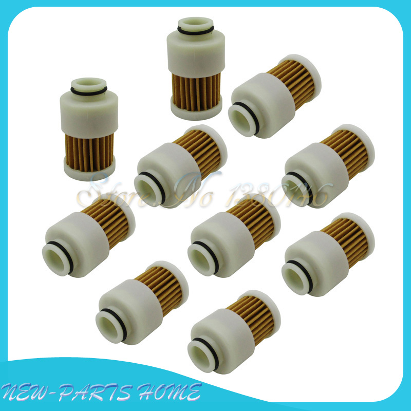 10pcs Fuel Filters For Mercury 75HP 90HP 115 EFI 4 Stroke Outboard