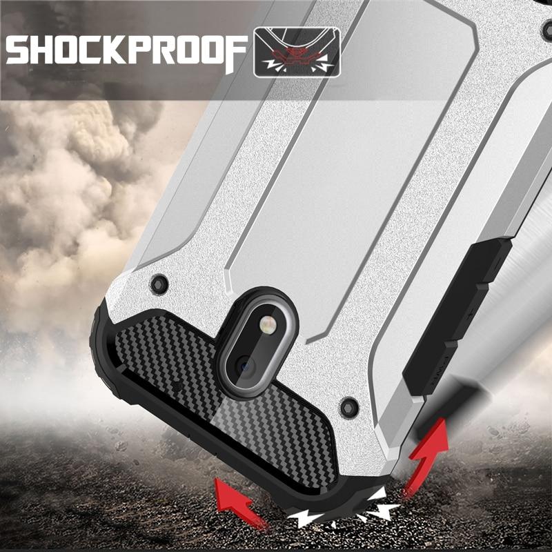 Híbrido pc silicona cubierta protectora case para moto m z g4 plus moto g4 play