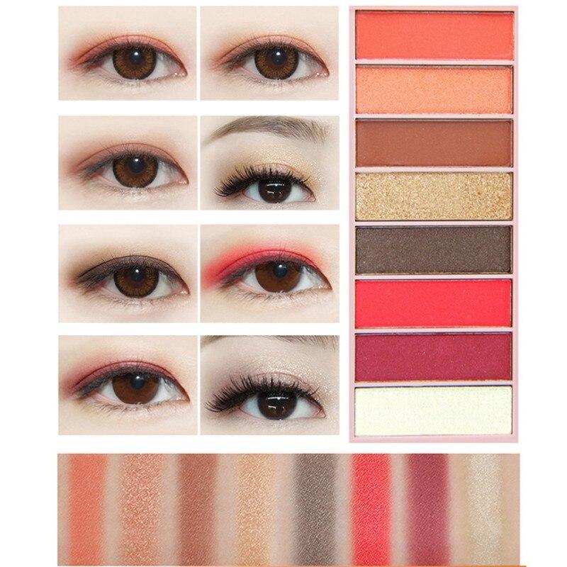 1pcs Eyeshadow Palette Matte Eye Shadow Palette Makeup Cosmetics