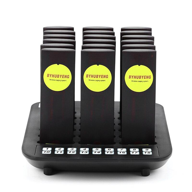Беспроводная пейджинговая система Беспроводная система вызова больничный прибор для вызова медсестры в том числе 1 передатчик и 18 приемник