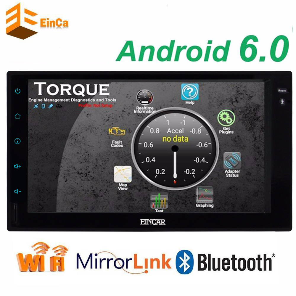 Double 2 din android 6.0 Car Autoradio Without CD DVD Player GPS Navigation In dash 2 din Car Stereo video GPS Navigation+wifi