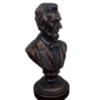 USA Abraham Lincoln Hand engraving Artwork American Home Ornament Statue of Lincoln study the living room window decoration