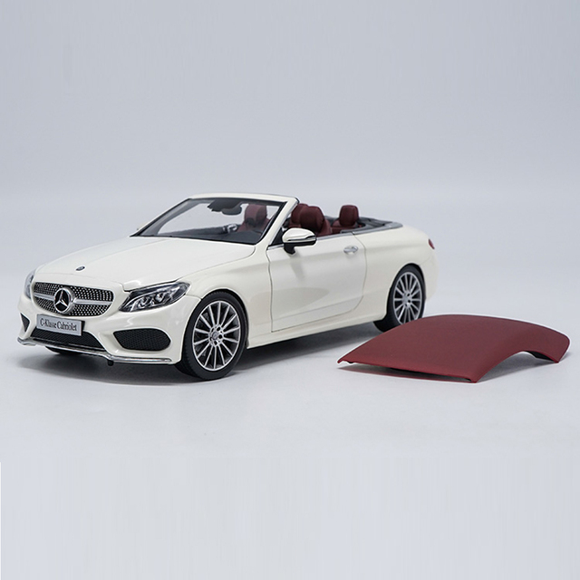 Scale 1:18 Alloy Diecast Car Benz C-Class C200 Model Toy For Kids Christmas Gifts Toys Free Shipping