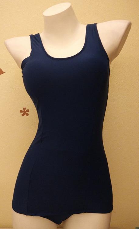 Японская школьная форма SUKUMIZU купальник косплей костюм бикини цельный купальник бикини женский купальник топ одежда для плавания - Цвет: blue