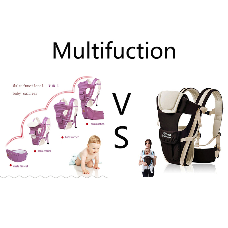 Gabesy Baby Carrier Ergonomic Carrier Backpack Hipseat for newborn and prevent