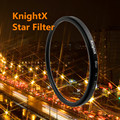 KnightX 52 58 67 72 77 мм Звезда Фильтра Точки Линии 58 мм для Canon 18-55 мм EOS Rebel T4i T3i T2i DSLR объектив d3200 d5200 d5300 d3300
