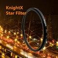 KnightX 52 58 67 72 77 mm Star Filter Point Line 58mm for Canon 18-55mm EOS Rebel T4i T3i T2i lens DSLR d3200 d5200 d5300 d3300