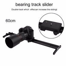 """SD-600 60 см камеры трек вагон системы видеокамера Стабилизатор низкий уровень шума 24 """"задержки Долли слайдер для timelapse фотографии"""