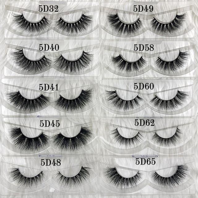 Aliexpress.com : Buy 5D Mink Lashes Custom Eyelash ...
