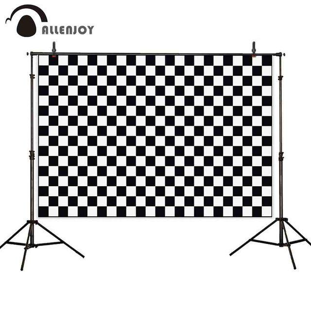 Allenjoy 신생아 아기 아이 photophone 배경 검정 흰색 체스 배경 photocall photozone photoshoot 사진 소품