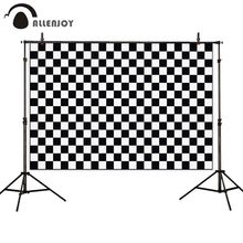 Allenjoy יילוד תינוק ילד photophone רקע שחור לבן שחמט רקע שיחת וידאו photozone פוטושוט אבזרי צילום