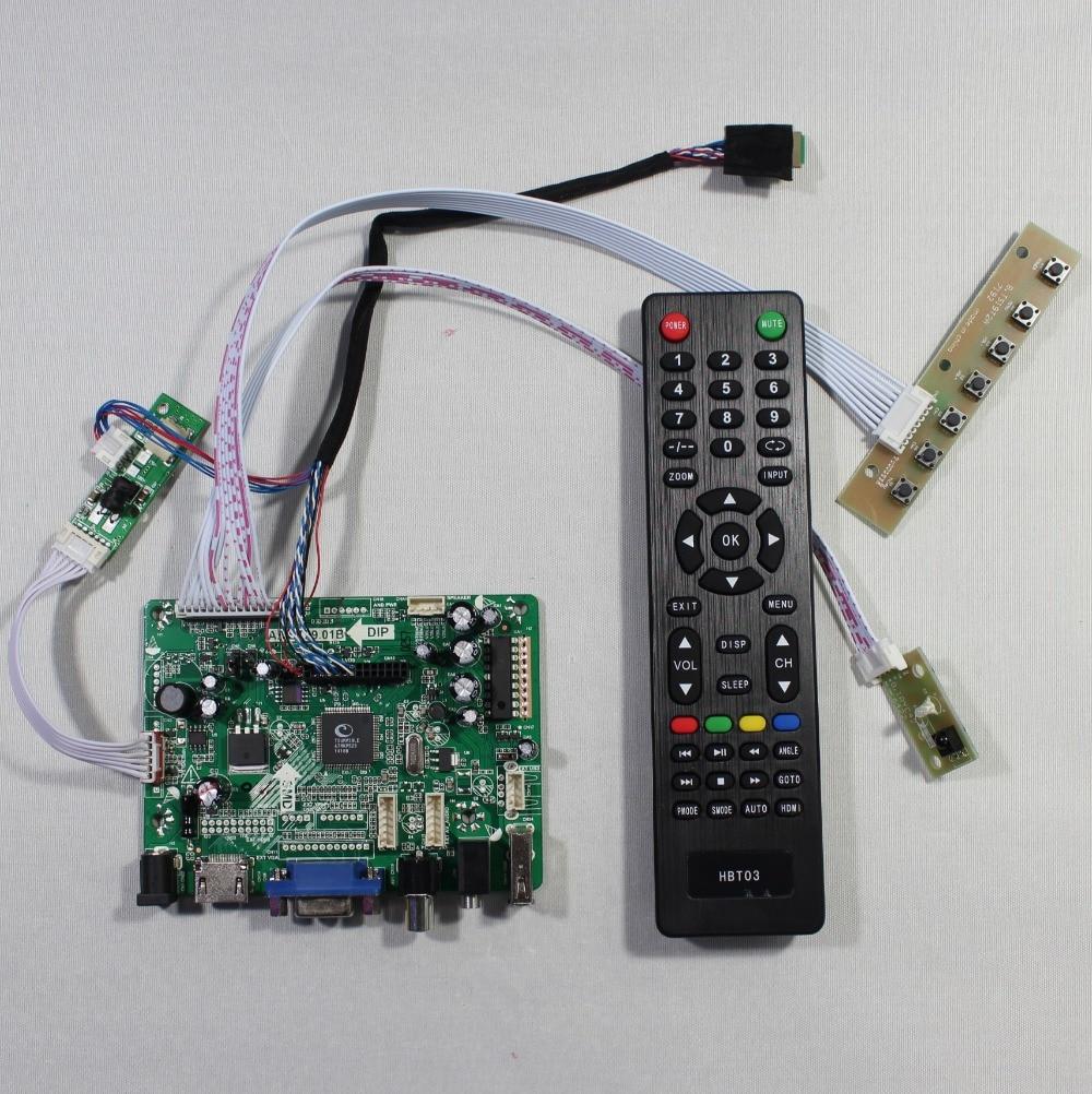 HDMI+VGA+AV+Audio+USB FPV Controller board for 9.7inch LTN097XL01 1024X768 LCD screen model LCD for Raspberry Pi hdmi vga av audio usb controller board for m201ew01 1680 1050 6ccfl lcd panel for raspberry