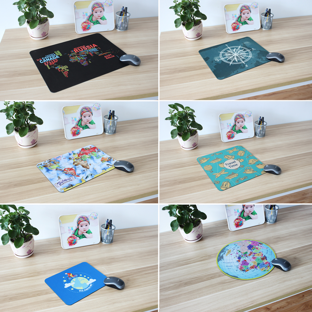 Купить с кэшбэком pbpad store 2019 new hot small and large Super World Map office gaming mouse pad Speed Computer laptop Mouse Pad Table Mat