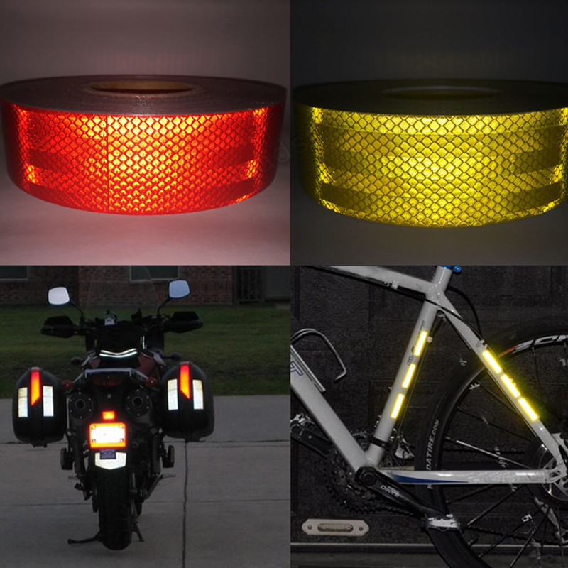 3M Reflective Tape Sticker For Bicycle Protection Bicycle Decals Stickers Protection For Bicycles Stickers 50mm*3m