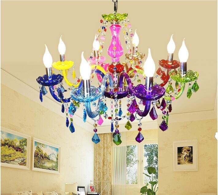 D720mm H600mm lustre en cristal bohême lustre lustres de cristal décoration Tiffany pendentifs et lustres éclairage à la maison