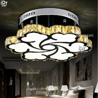 LED Crystal Lamp Modern Minimalist Acrylic Carved Clouds Adults Children Bedroom Ceiling Lights
