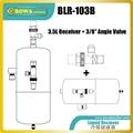 """3.5L flüssigkeit recievers mit winkel ventil (3/8 """"NPT zu 3/8"""" SAE flare) ist gute design für EVI pipeline von luft quelle wärmepumpe einheit-in Wärmepumpenboiler Teile aus Haushaltsgeräte bei"""