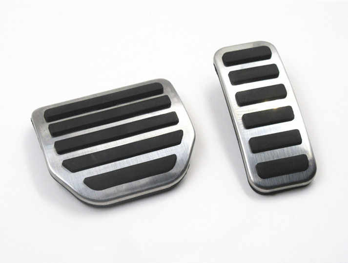 Accessories Gas Accelerator Brake Pedal For Land Rover Range Rover Sport  Discovery 3 4 LR3 LR4 Pedal AT Plate Cover Pad