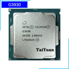 Intel Celeron G3930 2.9 Ghz Dual-Core Dual-Draad Cpu Processor 2M 51W Lga 1151(China)