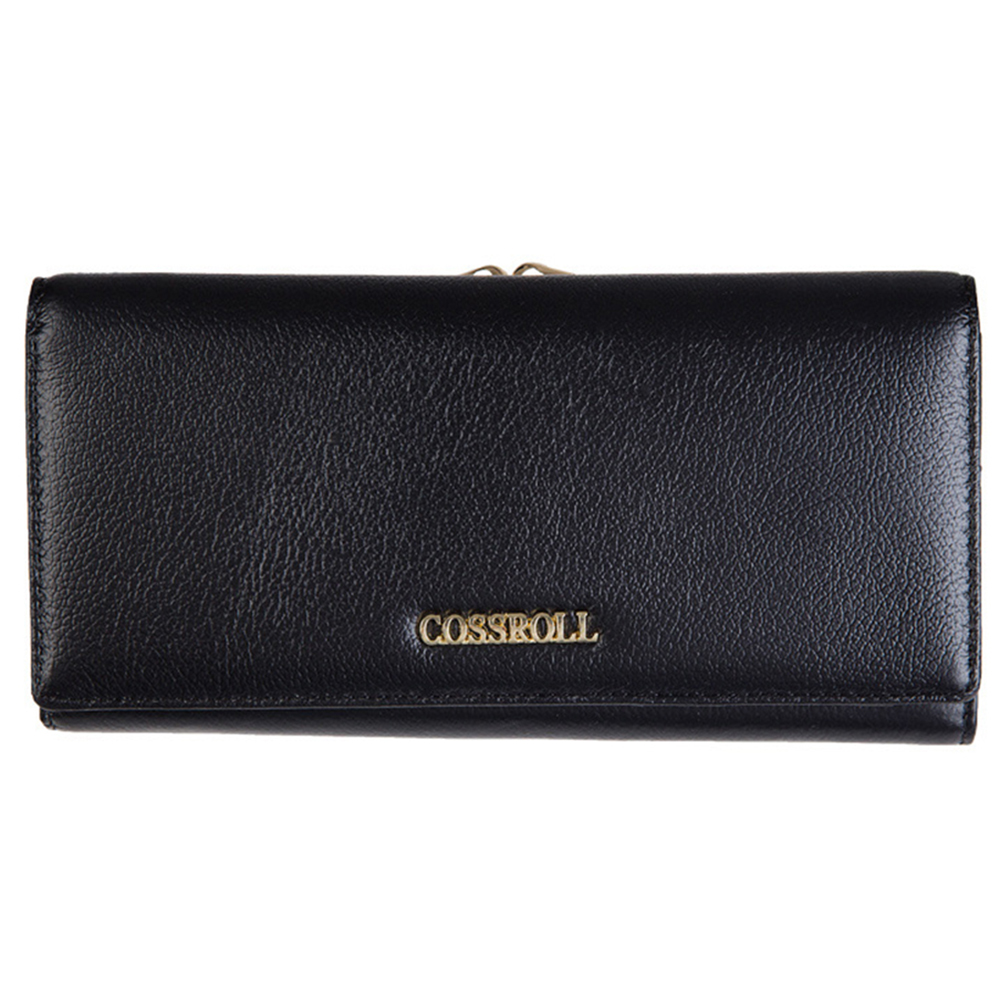 Genuine Leather Wallet Female Hasp Fashion Dollar Price Long Women Wallets Cell Phone Purse Lady Clutch Bag Card Coin Pocket