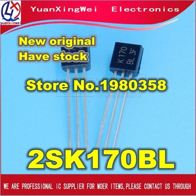 จัดส่งฟรี 200 ชิ้น/ล็อต 2SK170 BL 2SK170BL 2SK170 K170 TO 92