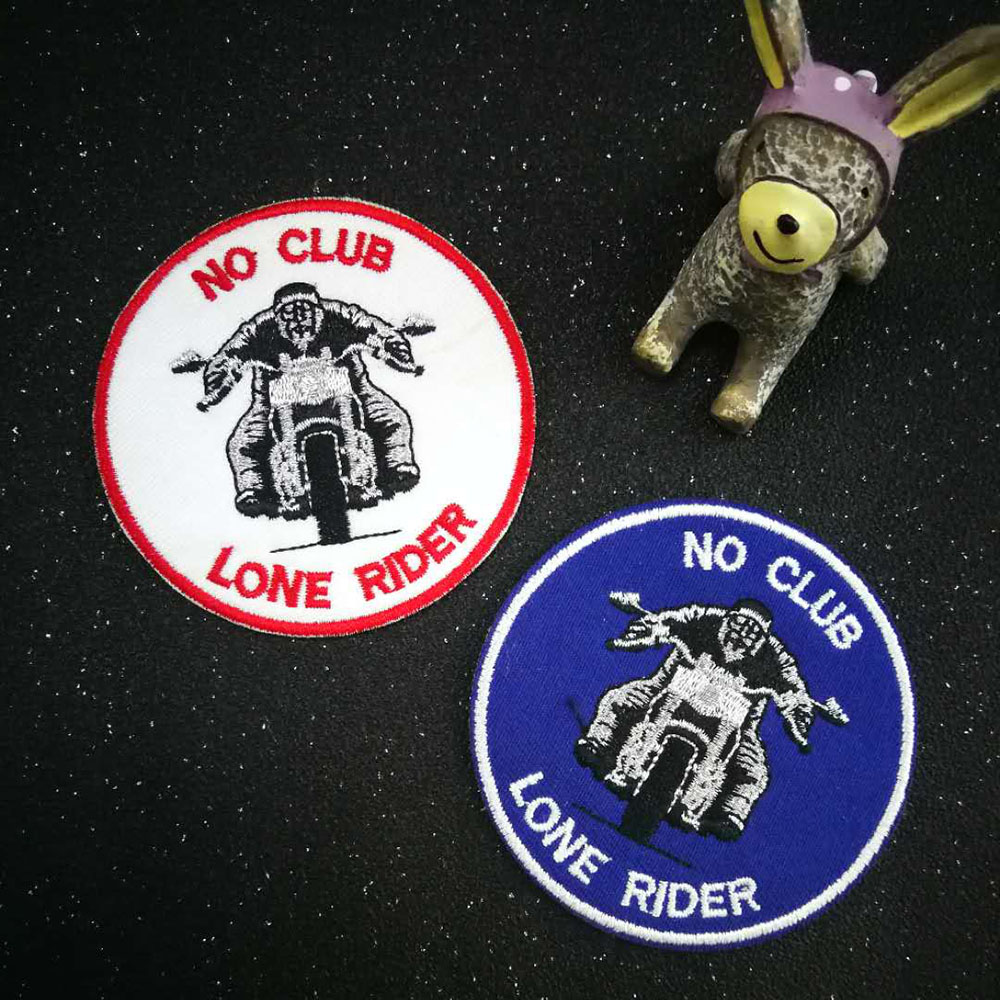 Parche No Club Lone Rider @ KUSTOM FACTORY