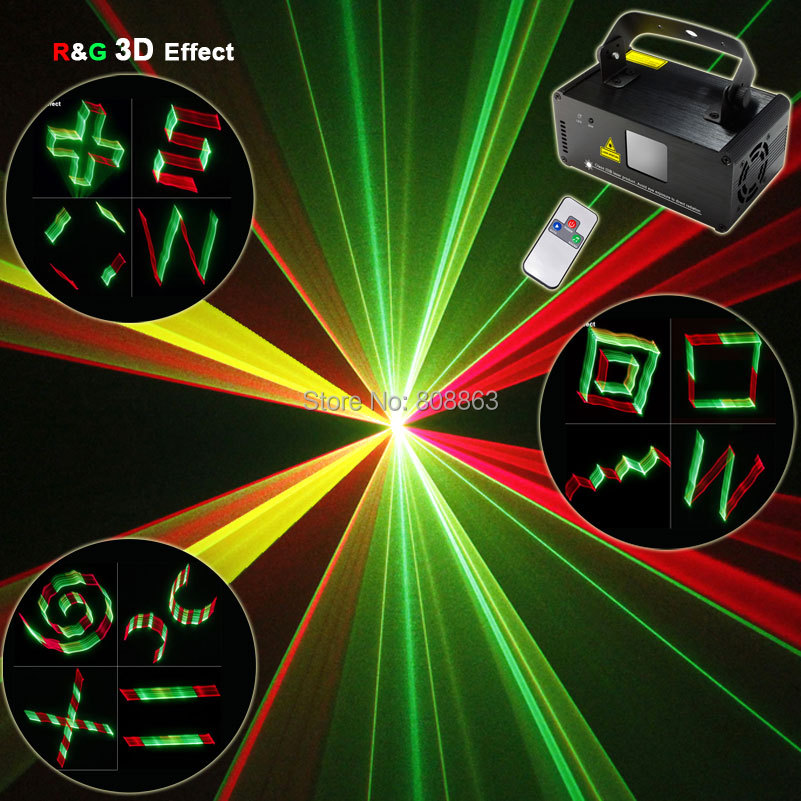 Здесь продается  250 ESHINY RGY Laser 3D Projector Lines Beam Scans Remote DMX DJ Dance Bar Xmas Home Party Disco Effect Lighting Light Show D78  Свет и освещение