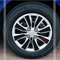 32pcs/set Waterproof Carbon Fiber Hub Stickers 4 Rim Wheels For HYUNDAI Solaris Verna Exterior Car Accessories