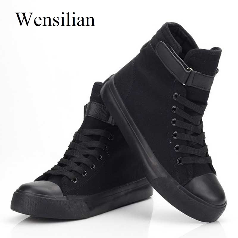 High Top Sneakers Women Vulcanize Shoes Basket Femme White Canvas Shoes Woman Lace Up Trainers Women Tenis Feminino Casual