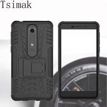 Shockproof Case For Nokia 1 2 3 5 6 8 3.1 5.1 6.1 7.1 Plus 2018 X3 X5 X6 X7 Cover Silicone TPU+PC Hard Armor Phone Back Coque