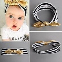 Повязка на голову для маленьких девочек; повязка на голову с бантом для новорожденных; повязка на голову; подарок для малышей; повязка на голову с кроличьими ушками