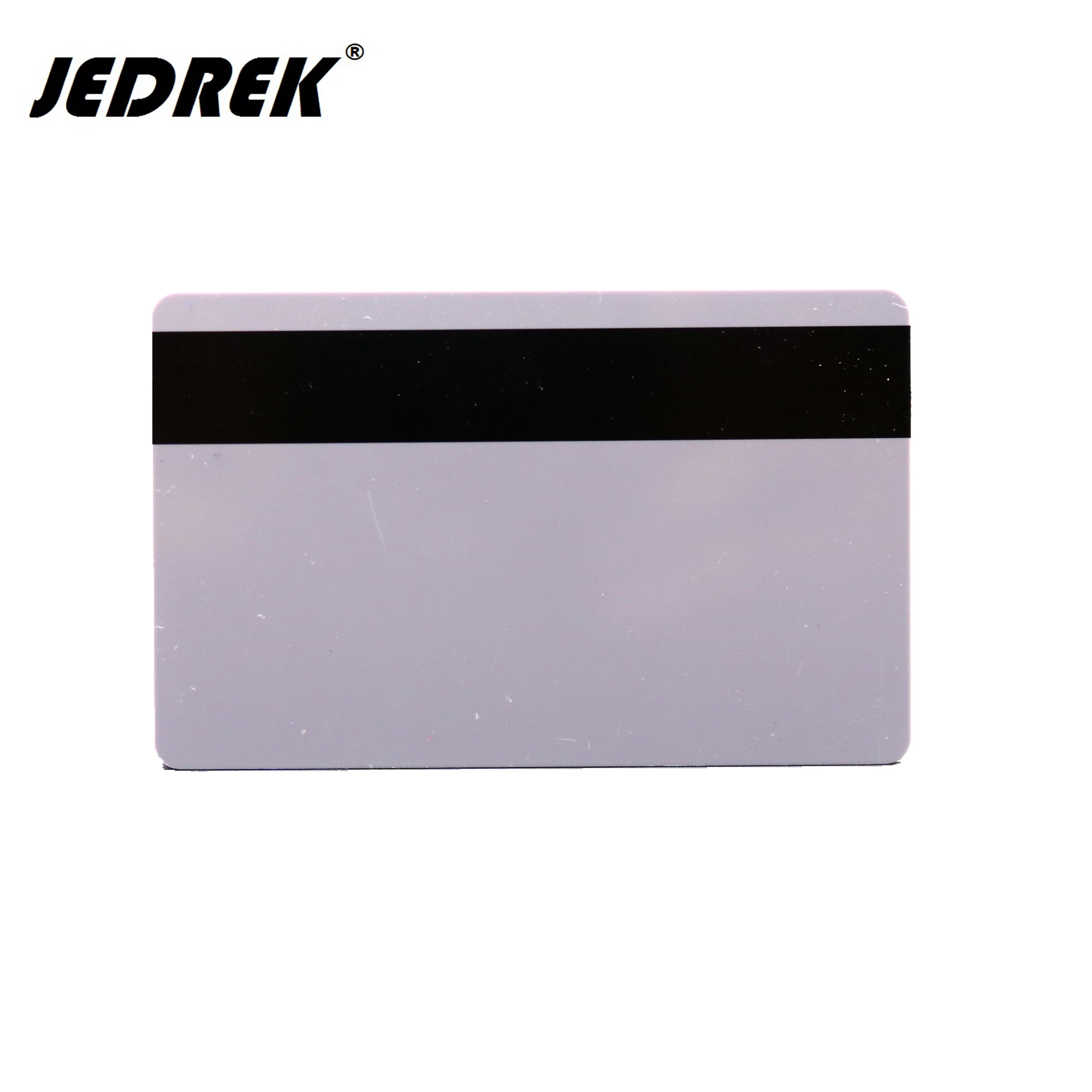 Blank PVC Magnetic Stripe Card 2750 OE Hi-Co 3 Track Magnetic Card Support High Resistance