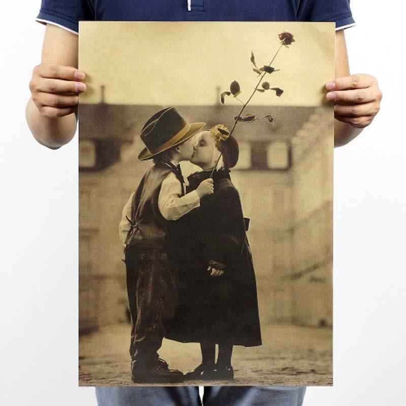 Винтажный постер Фильм Ретро аниме автомобиль плакаты и принты кофе/кухня/гостиная декоративная живопись крафт-бумага наклейки на стену - Цвет: 073