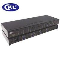 CKL-4A4 Matriz 4x4 Caixa de Interruptor VGA Spliter com Áudio e IR remoto