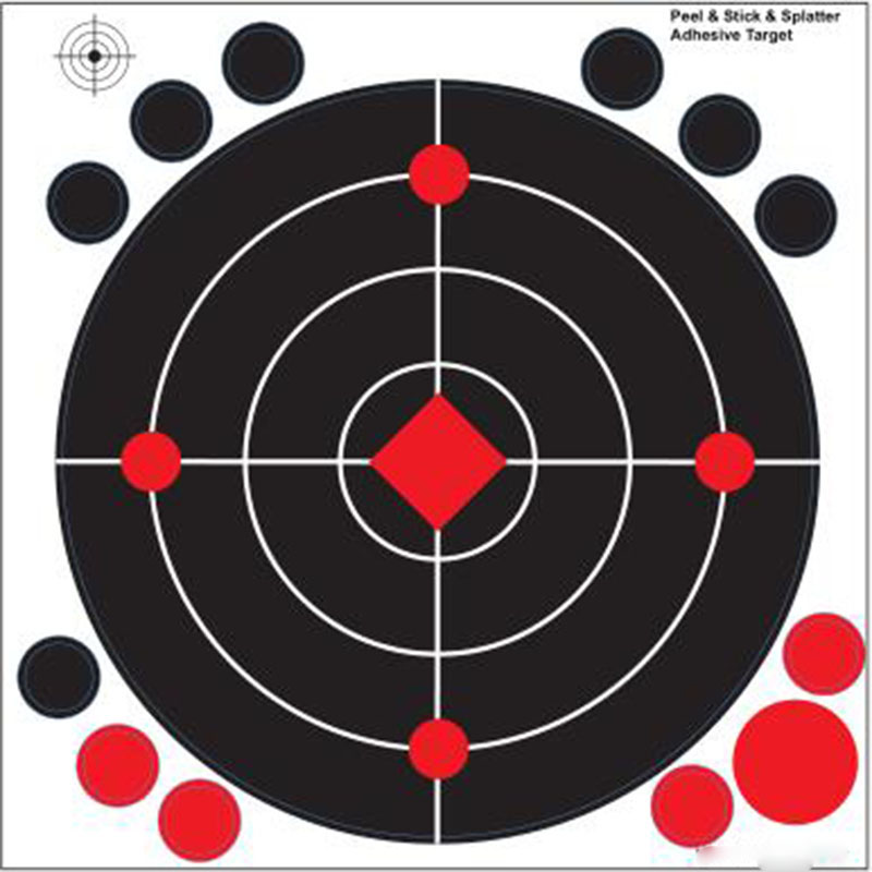 Splatter Targets Adhesive Backing Targets Reactive Target Shooting-Spend More Time Shooting and Less Time Checking Your Targets