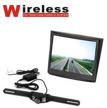 2.4G Wireless 3.5 cal bezprzewodowy zestaw bezprzewodowy Monitor cofania rear view camera