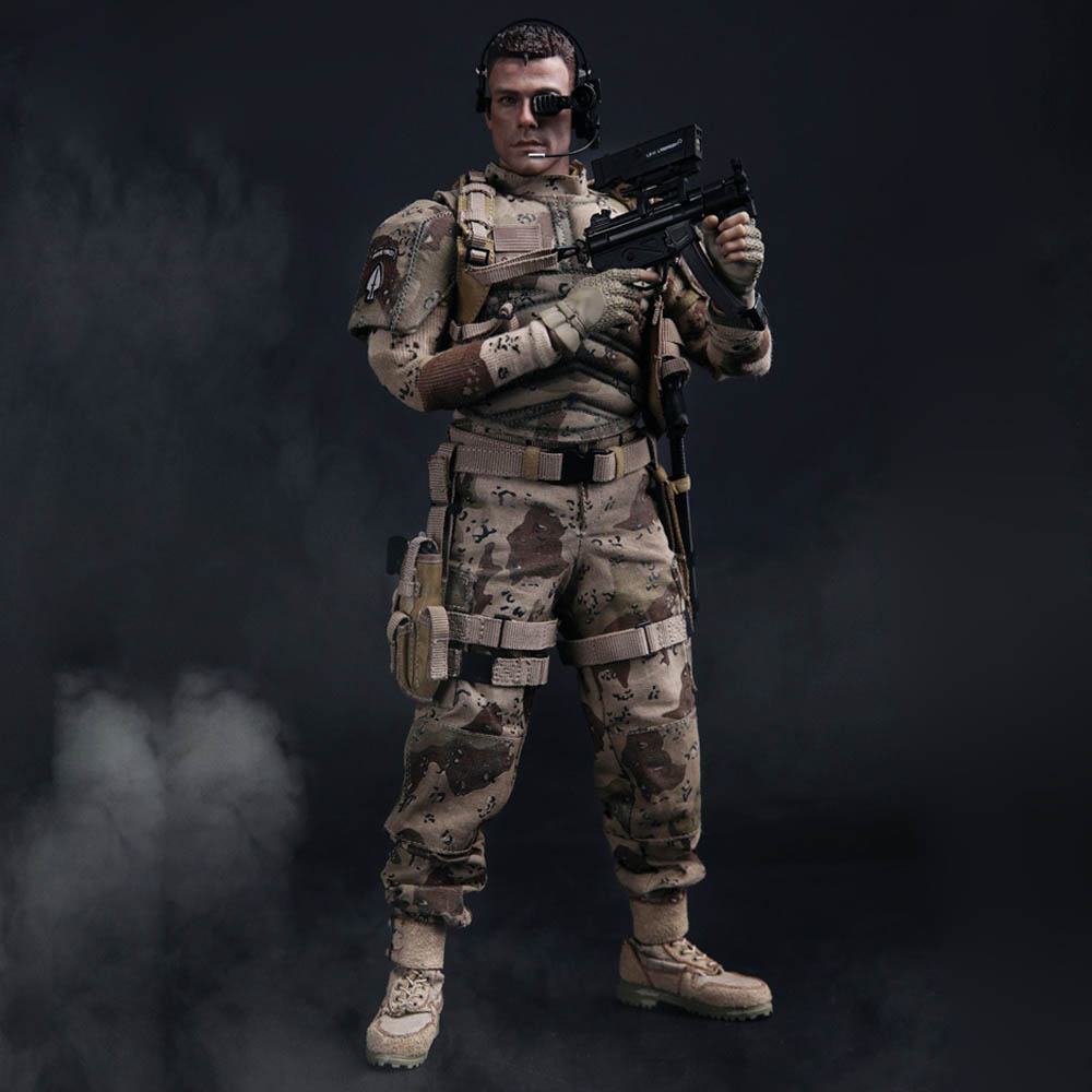Universal Soldier 1/6 Scale Action Figure Luke Dubrow Dms002 With Head Sculpt Body Model Shoes Clothes Action Figure Toys