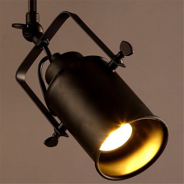 gratis verzending 5 w amerikaanse vintage retro industrile led track verlichting voor cafebar