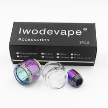 Original 331332 Replaceable Glass Tube Pure Cigarette ijust S ijust 2 glass Tube for Eleaf ijust s kit atomizer цены онлайн