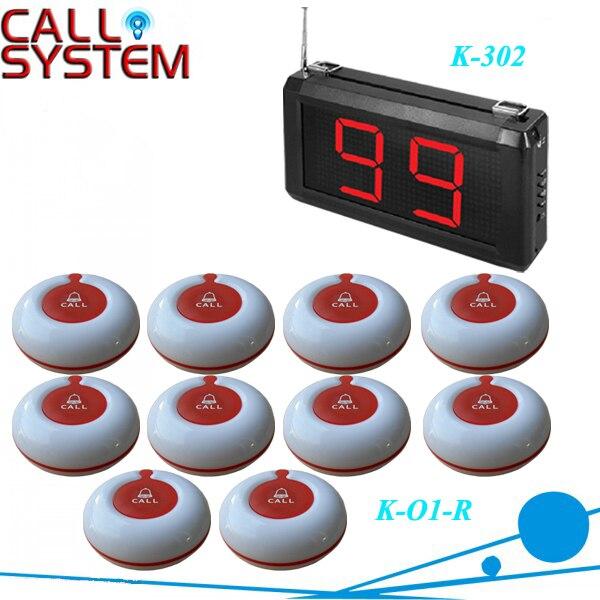 1 компл. 99 зон из светодиодов беспроводной вызова медсестры скорой система к-302, Размер 220 * 120 * 40 мм, DHL / EMS