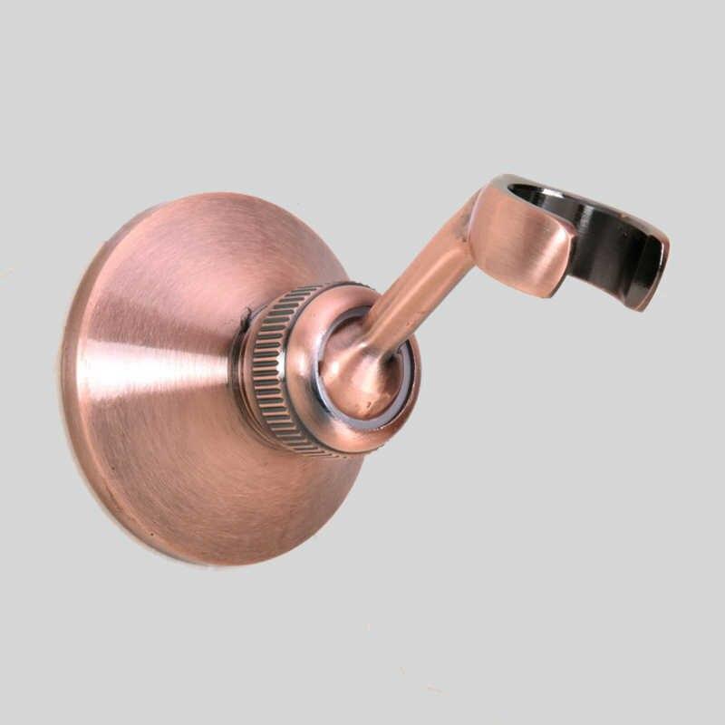新しい調整可能な壁がシャワーヘッドブラケットクローム仕上げハンドヘルドシャワーヘッドスプレーホルダー浴室アクセサリー KD1384
