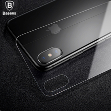 Фотография BASEUS Back Protector for iPhone8 0.3mm Full Coverage Tempered Glass Back Cover Film for iPhone 8