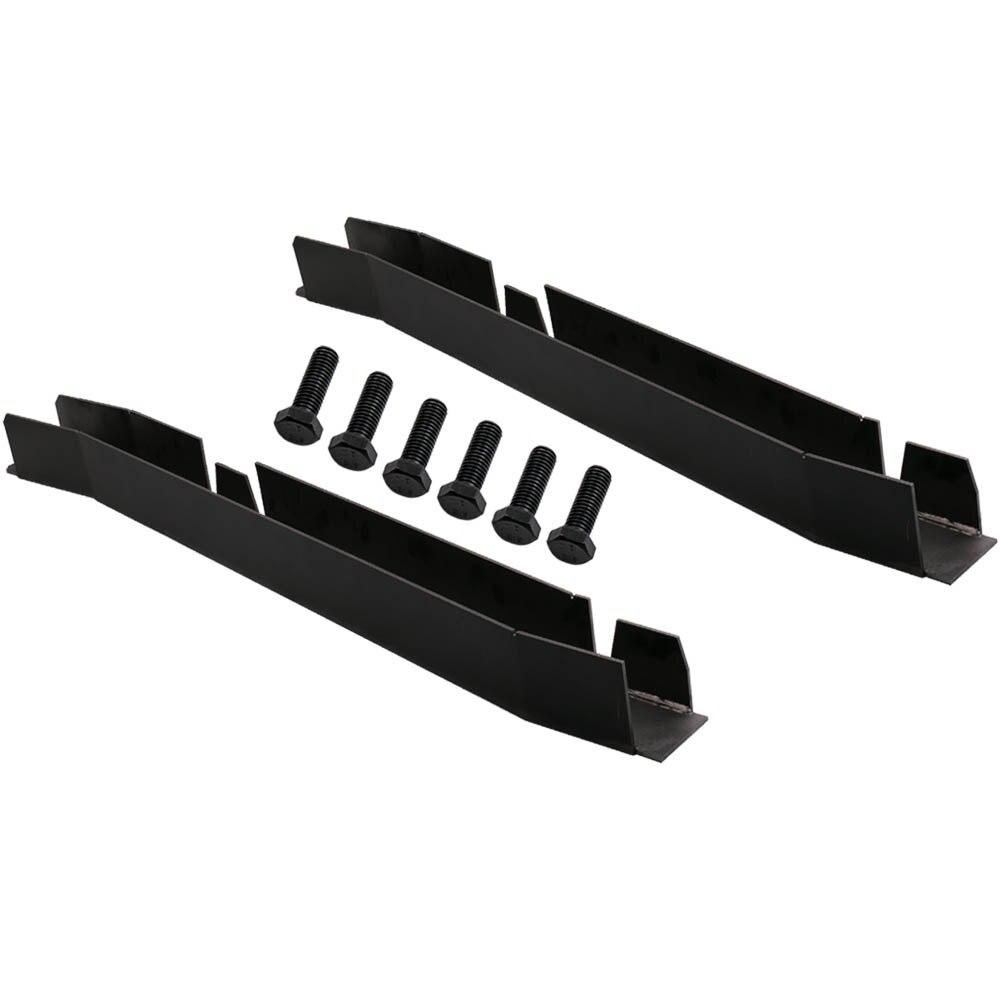 Black Center Skid Plates Rust Repair Frame RH LH For Jeep Wrangler ...