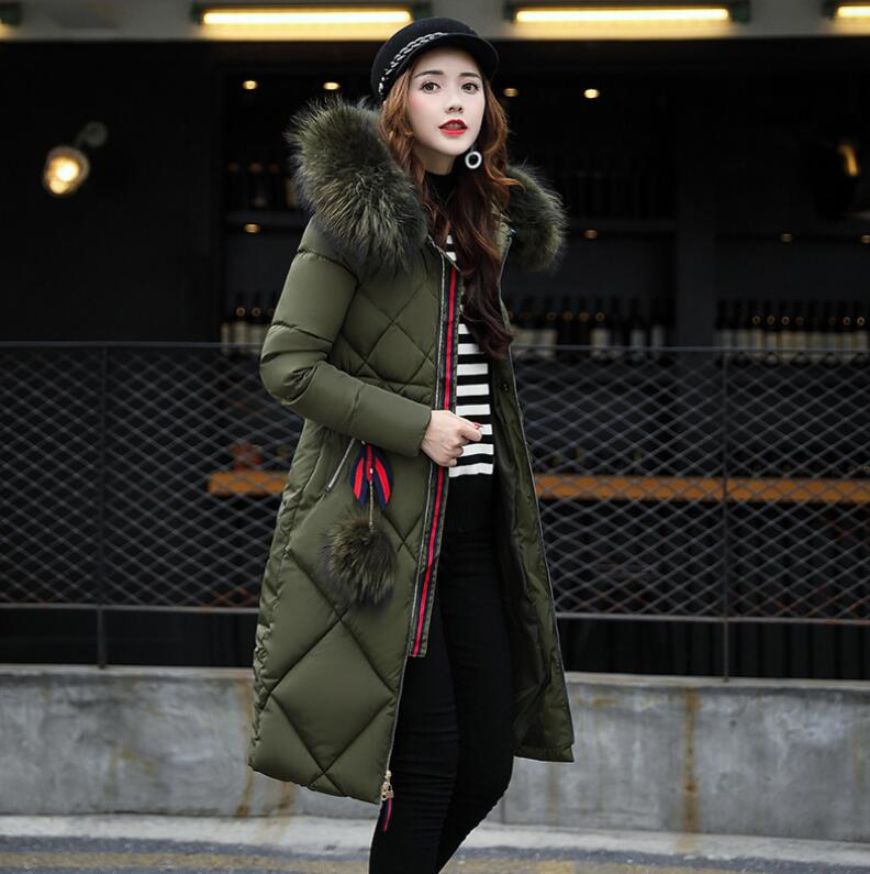 Maternity winter fur collar parkas coat fashion Long Loose Hooded Solid Thicken Down Coat Pregnant Women Pregnancy Coats Outwear philips gc 4860 37