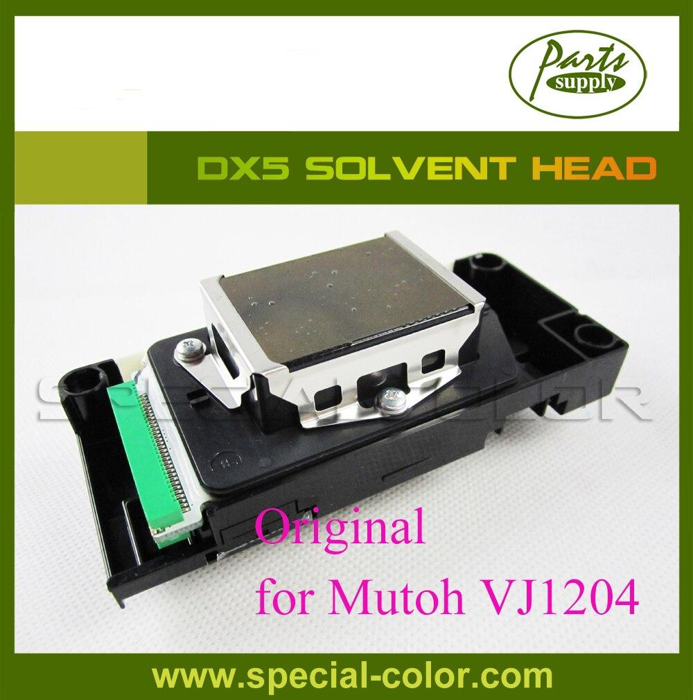 Gold service!! Original DX5 Eco Solvent print head for Mutoh VJ1204 Printer Head DF-49684 best price of dx5 solvent head for eco solvent printer