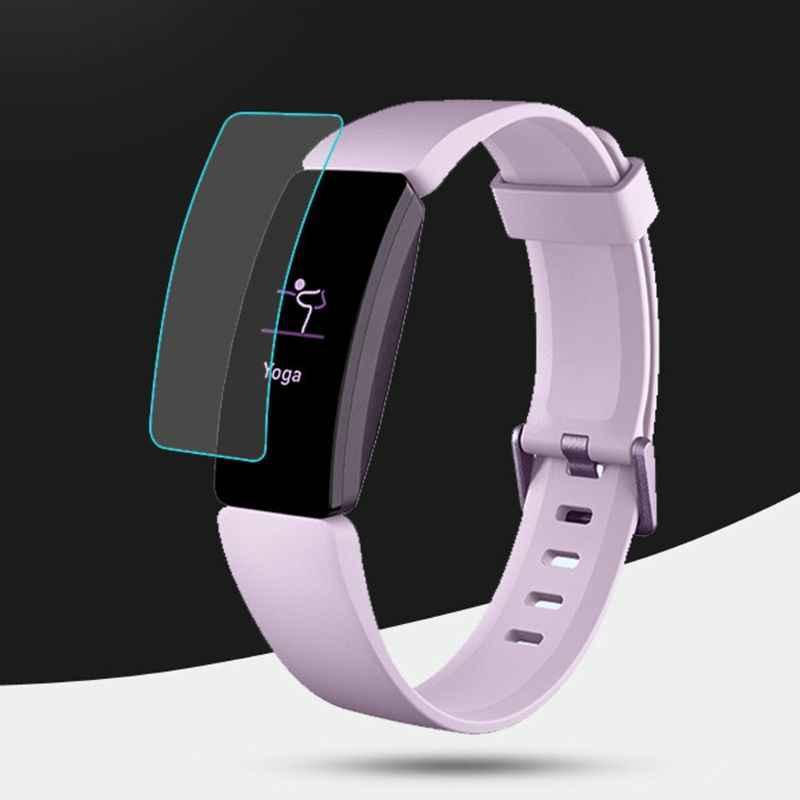 2019 nueva cubierta de película protectora para Fitbit Inspire/Hr con correa de reloj de pulsera de TPU resistente al agua y a los arañazos