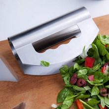 Kitchen Stainless Steel Double Cut Salad Salad Chopped Vegetable Cheese Cheese Cut Knife Vanilla Knife(China)