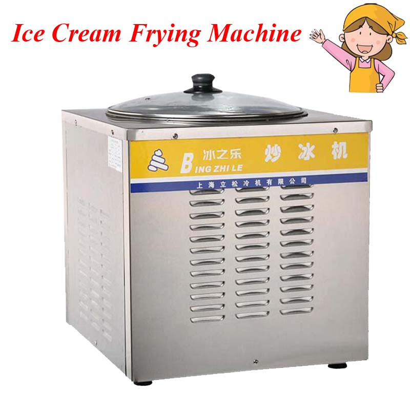 цена на Ice Cream Maker,Commercial Ice fried machine,Single round pan Fried yogurt ,drink,ice cream CB-801A